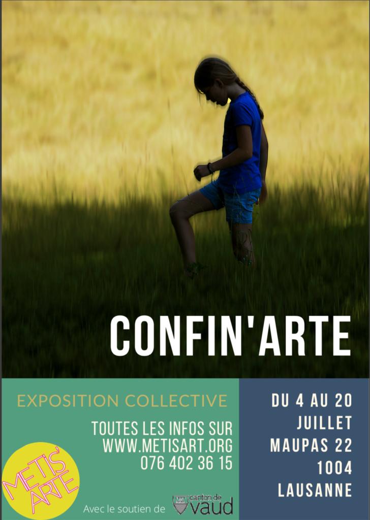 confinement avec l'art