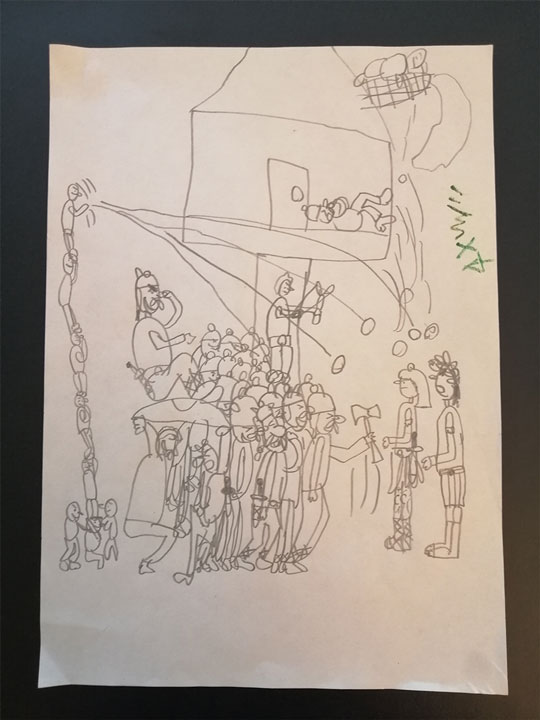 Lucas dessins