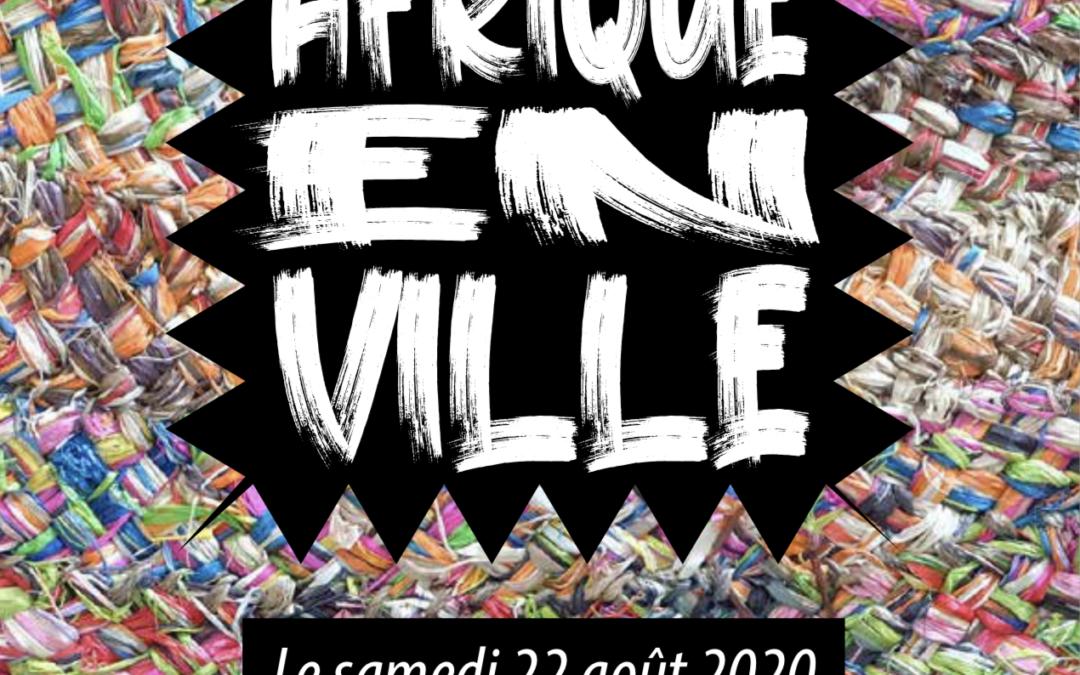 """Métis'Arte participe dans la journée socioculturelle """"Afrique en Ville"""""""