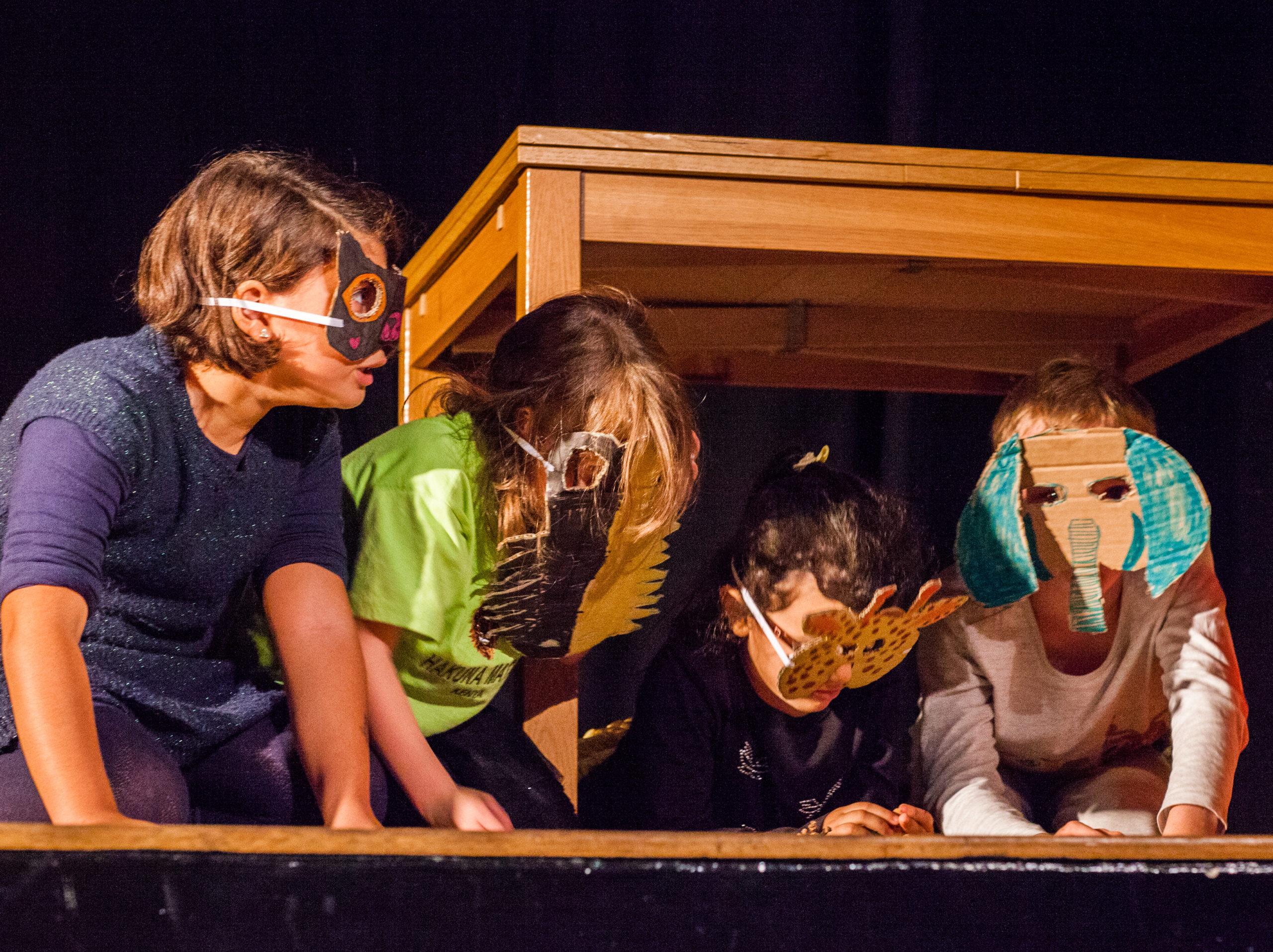 Ateliers théâtre enfants